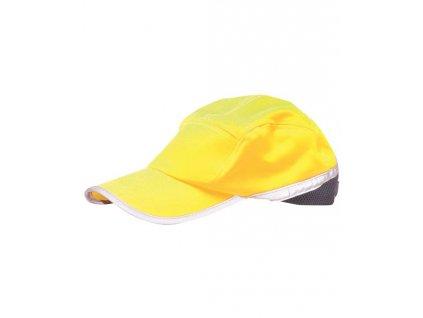 Čiapka so šiltom hi-viz žltá HB10
