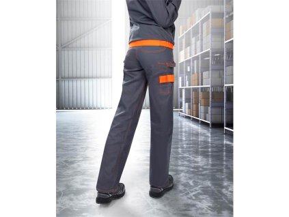 Blúza COOL TREND dámska sivo-oranžová 36