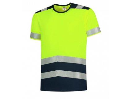 T-Shirt High Vis Bicolor Tričko unisex