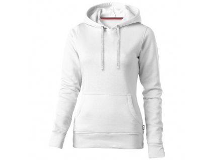 Slazenger•Dámská mikina Alley s kapucou•50% bavlna a 50% polyester. , white, S