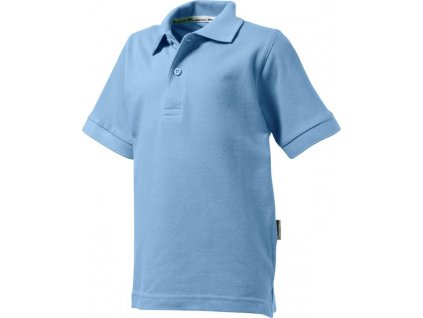 SLAZENGER•FOREHAND KIDS POLO•200 g/m2•100% bavlna , light blue, 128