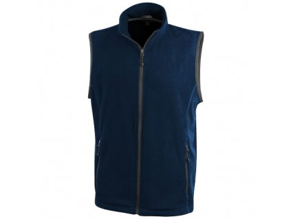 Elevate•Vesta Tyndall z materiálu micro fleece•100% polyester , Navy, XS