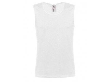 B&C •B&C ATHLETIC MOVE•145 g/m2•100% bavlna , white, M