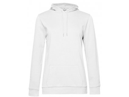 #Hoodie Sweat /Women , white, S
