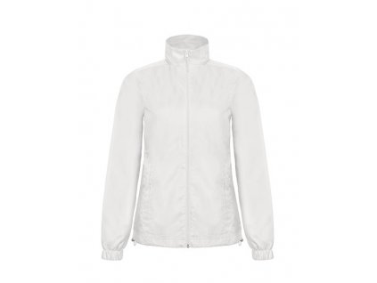 B&C•ID.601 /WOMEN LIGHT WEIGHT WINDBREAKER WITH THERMO LINING , white, S