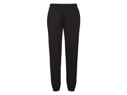 F52•Classic Elasticated Cuff Jog Pants , Black, S