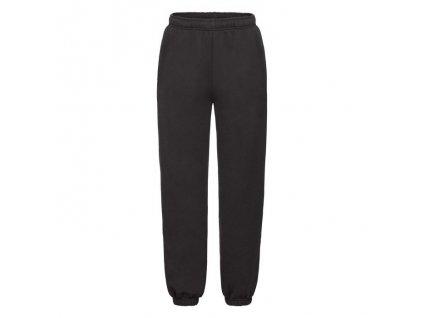 F73•Kids Premium Elasticated Cuff Jog Pants , Black, 5//6