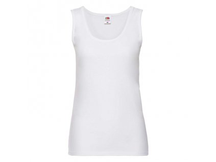 FN02•Ladies Valueweight Vest , white, S
