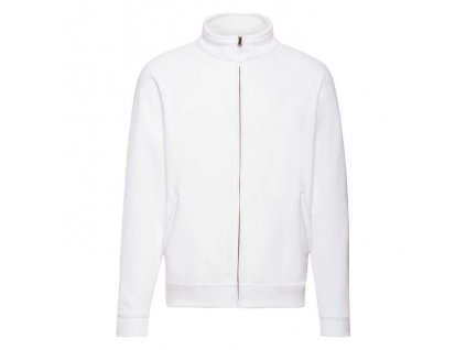 FN08•Classic Sweat Jacket , white, S