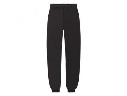 FN14•Kids Classic Elasticated Cuff Jog Pants , Black, 5//6