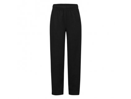 FN19•Kids Lightweight Open Hem Jog Pants , Black, 5//6