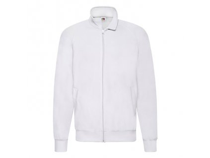 FN36•Lightweight Sweat Jacket , white, S