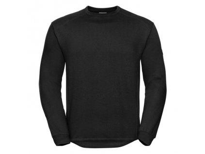 013M•Heavy Duty Workwear Sweatshirt , Black, XS