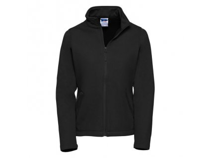 040F•Ladies` Smart Softshell Jacket , Black, XS