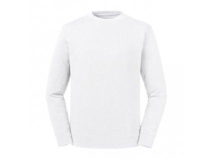 208M•Pure Organic Reservible Sweat , white, XS