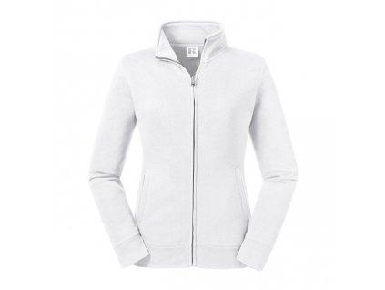 267F•Ladies´ Authentic Sweat Jacket , white, XS