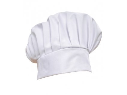 Kuchárska čiapka , white
