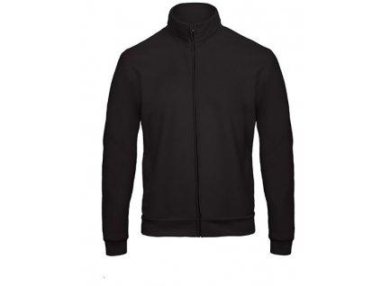 B&C•ID.206 Sweat-Jacket 50/50 , Black, S
