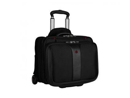 2-dielna cestovná taška na kolieskach , Black