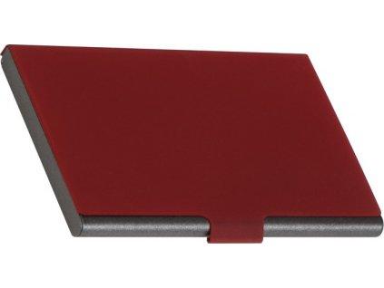 Elegantný kovový vizitkár , Red