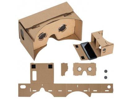 VR okuliare z kartónu , Brown