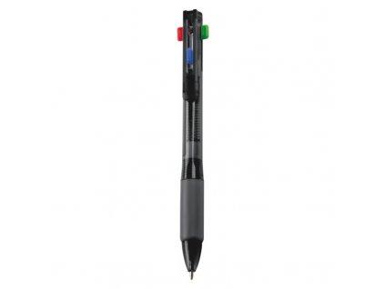 Guľôčkové pero (4-farebné) , Black