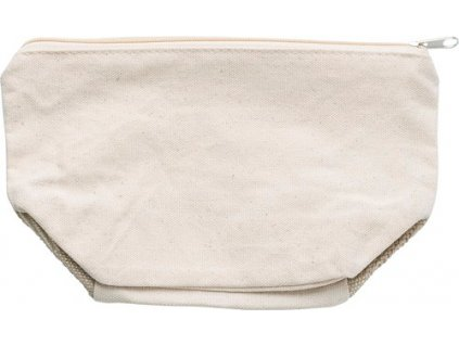 Bavlnená toaletná taška , Brown