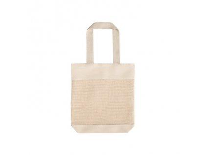 100% bavlnená taška , light natural