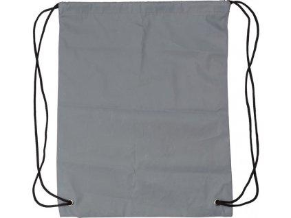 Batoh s reflexným sťahovaním zo syntetického vlákna (190D) , Grey