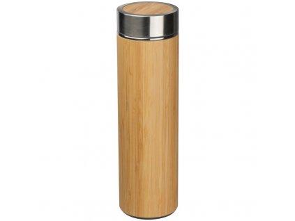 Flaša s bambusom (550 ml) , Beige