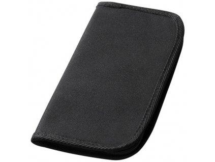 Cestovná peňaženka , solid black