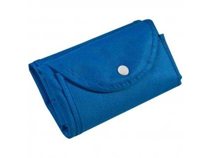 Skladacia netkaná nákupná taška , Blue