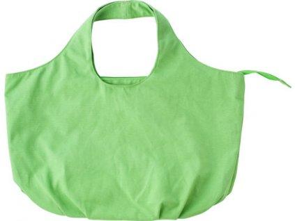Bavlnená plážová taška, , light green
