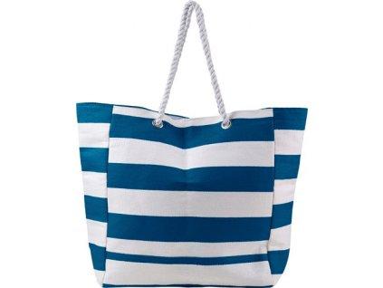 Bavlnená plážová taška , Blue