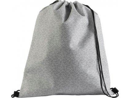 Netkaný batoh so šnúrkou , Black
