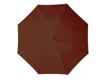 Skladací dáždnik v puzdre, priemer 81 cm , Brown
