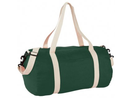 Bavlnená športová taška , Hunter Green