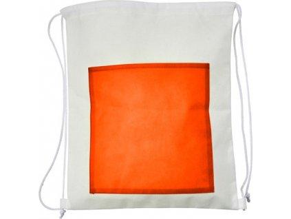 Batoh z netkanej textílie , Orange