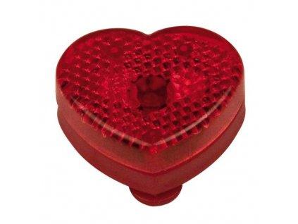 Blikajúce svetlo v tvare srdca , Red
