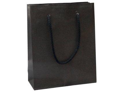 Darčeková papierová taška , Black, M