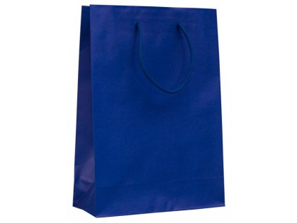 Darčeková papierová taška , Blue, L