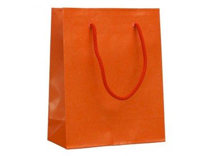 Darčeková papierová taška , Orange, M