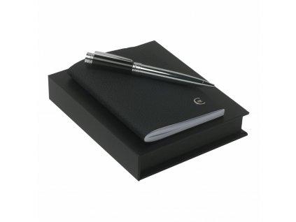 Zápisník A6 s perom , Black