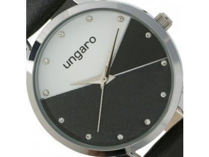Dámske hodinky AURELIA , black/silver