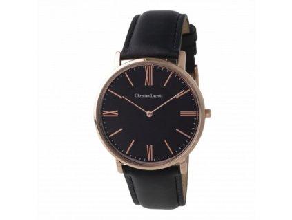 Elegantné pánske hodinky, 3ATM, darčekové balenie , black/gold
