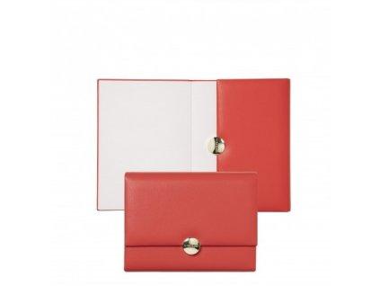 Zápisník A6 , coral red