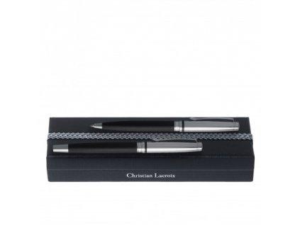Guľôčkové pero a roller , black/silver