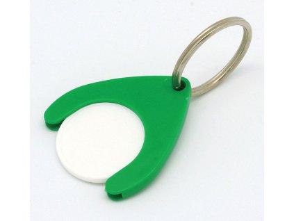 Kľúčenka bez žetónu , Green