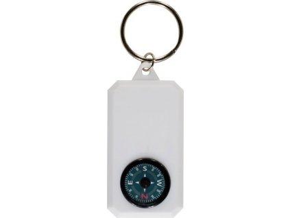 Kľúčenka - kompas , white
