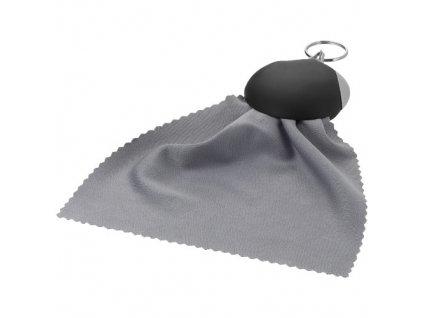 Kľúčenka - čistiaca handrička , solid black